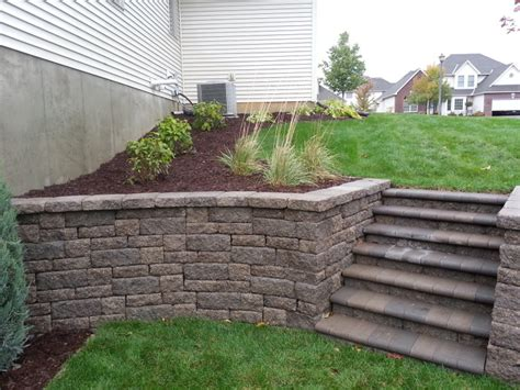 Rockwood Retaining Walls Friedges Inc Residential Division Friedges Landscaping Inc