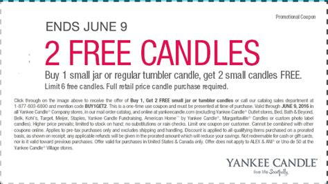 printable yankee candle coupons march 2016 yankee candle coupon buy 1 candle get 2 free ftm