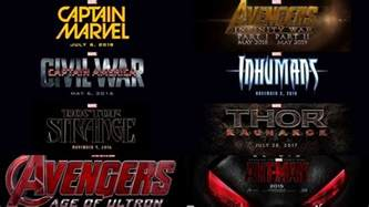 Marvel Upcoming Marvel Announces 9 Upcoming Name 2015 2019