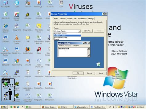 themes for my pc windows xp windows xp changes its theme every time after reboot