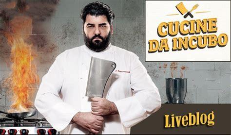 cucine da incubo italia programmazione cucine da incubo quinta puntata dissapore