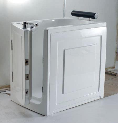 vasche da bagno con porta prezzi vasca da bagno con sportello frontale 100 x 70 cm