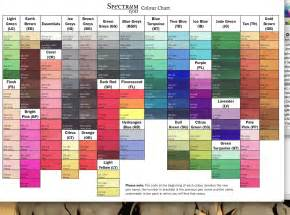 what color is noir bernadet s craft spectrum noir color confidence series