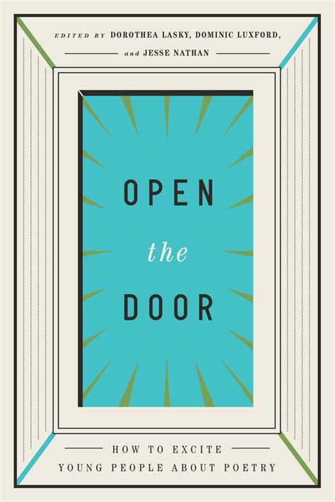open the door how to excite about poetry