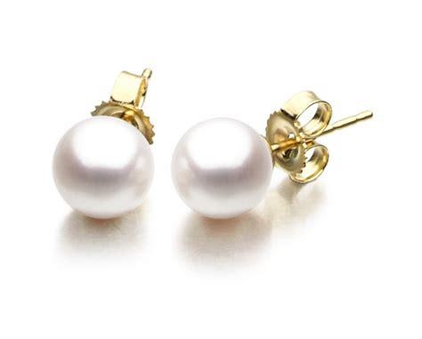 Freshwater Pearl Earring 10mm freshwater pearl earrings pearl clasp
