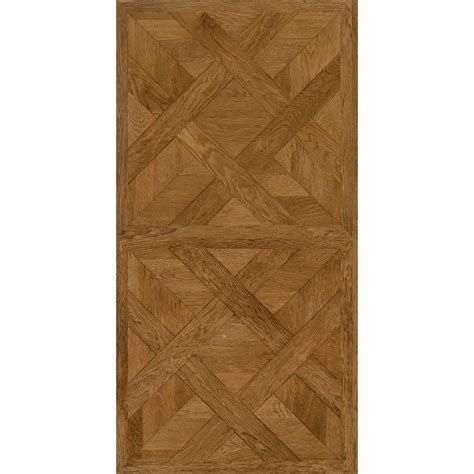 16 Ft Wide Vinyl Flooring by Trafficmaster Allure 16 In X 32 In Chateau Parquet Light