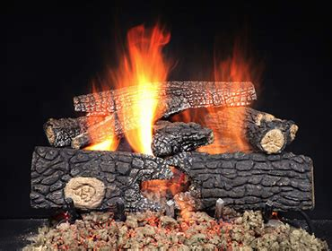 What Is A Gas Log Fireplace by Gas Fireplace Logs Log Sets Heat Glo