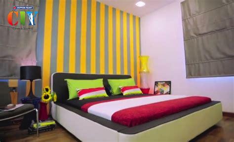 Merk Cat Tembok Indoor cat nippon untuk bilik tidur desainrumahid