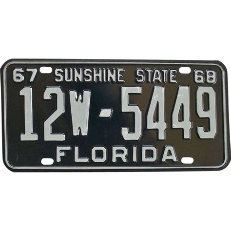 license plate light law florida florida license plate 1967 sold on ruby lane