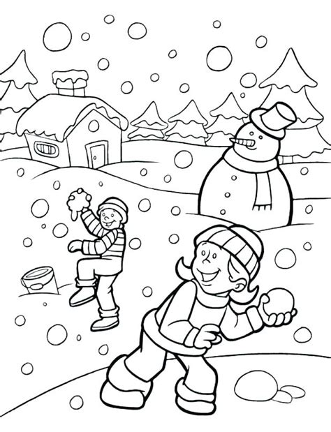 winter coloring pages   getcoloringscom