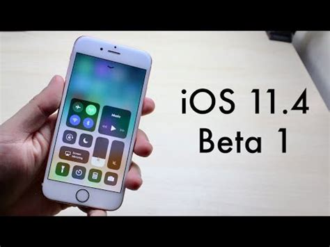 ios 11 4 beta 1 on iphone 6s review