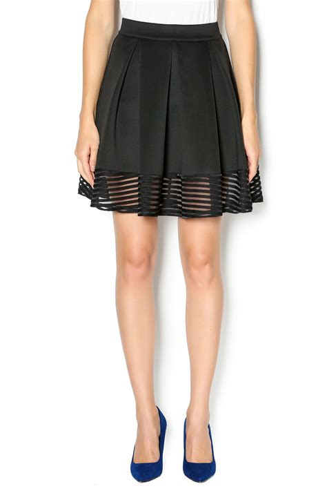 Flirty Skirts by Ezra Flirty Black Skirt From By Mode Boutique Of