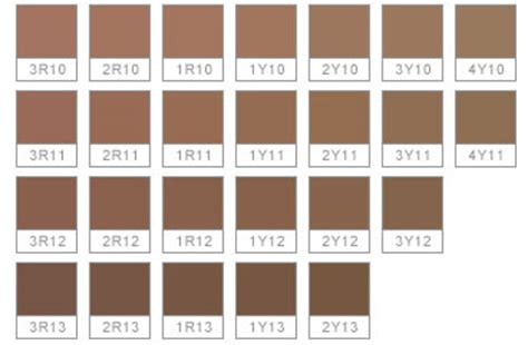 sephora color iq chart list your foundation shades beautytalk