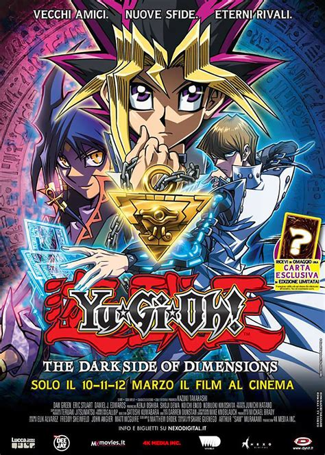 Yu Gi Oh 10 yu gi oh the side of dimensions al cinema per dynit