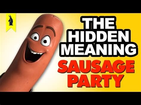 Sausage Party Meme - hidden meaning in sausage party earthling cinema