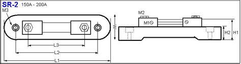 shunt resistor wattage mf power resistor shunt resistors sr