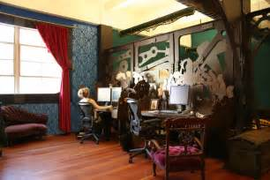 Hutch Artist Steampunk Office Interior Design And Fabrication Because