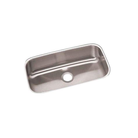 revere elkay undermount stainless steel 31 in 0 bowl