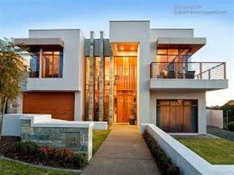 fachadas casas duplex modernas  youtube