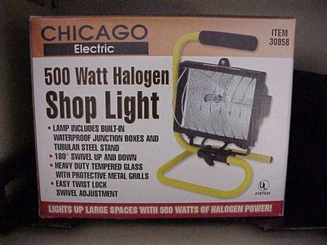 work lights at harbor freight halogen work lights recalled by harbor freight tools due