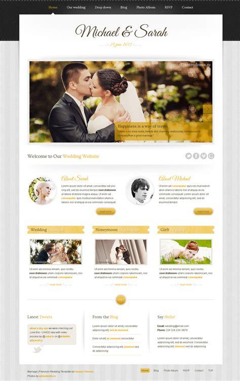 marriage responsive wedding wordpress theme by