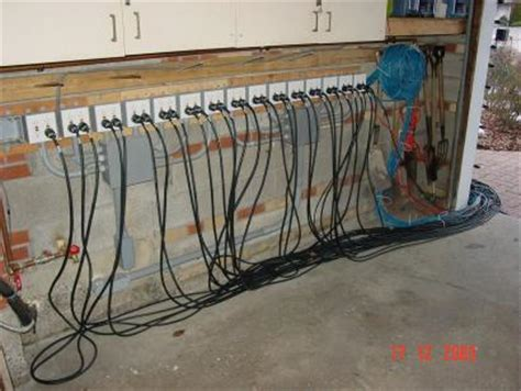 Garage Outlet by Power Distribution