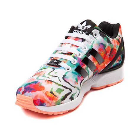 womens adidas zx flux athletic shoe multi
