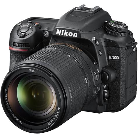 nikon d7500 digital slr with nikon af s 18 140mm vr lens kit