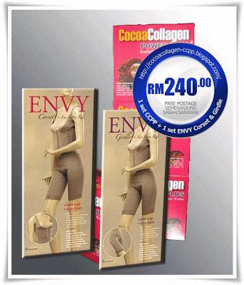 Harga Envy Corset cocoa collagen power plus