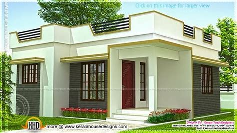 100 Gaj Plot Home Design small house in kerala in 640 square feet