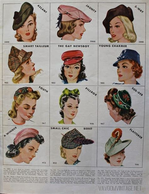 how to make a 1940 style hat 1940s vintage mccalls hat patterns from va voom vintage