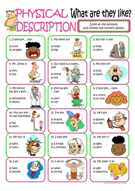 Esl Duties free esl describing worksheets don39t hi friends for preschoolers free best free