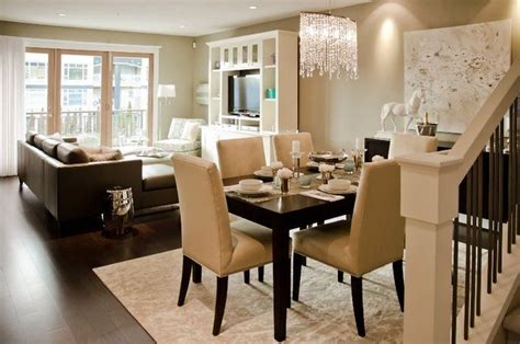small living room and dining room combined contemporary living room and dining room interior combo small space big style