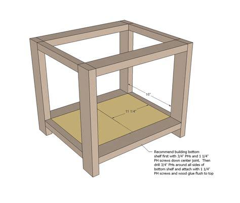End Table Woodworking Plans Woodshop Plans