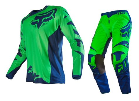 youth fox motocross gear fox 2016 youth mx race flo green motocross dirt bike