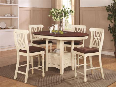 Addison 102238 102239 white wood pub table set in los angeles ca