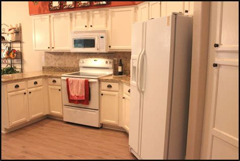 cream cabinets classy wood floor right for cream kitchen cabinets with