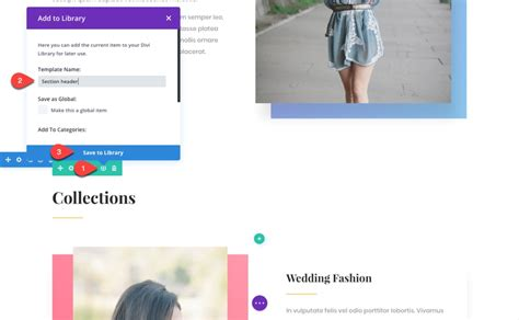section header 10 steps to using a new divi layout pack for your next