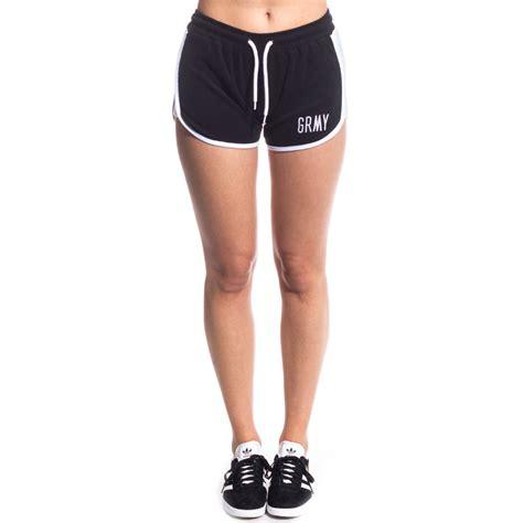 pantalon corto chica pantalon corto chica grimey the heat ss17 black