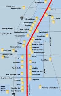 Las Vegas Blvd Map by Las Vegas Map