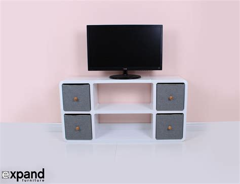Modular Sofas For Small Spaces slim modern tv stand expand furniture