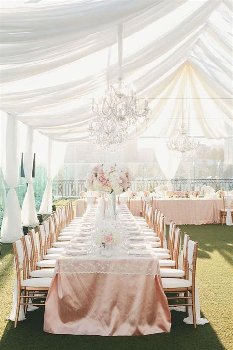 how much is draping for a wedding gold table table linens and rose gold on pinterest