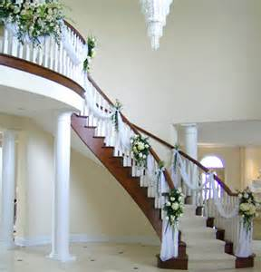 Home Wedding Decorations Ideas Staircase Decorating Ideas Architecture Design