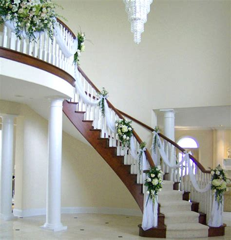 How To Decorate Home For Wedding | staircase decorating ideas architecture design
