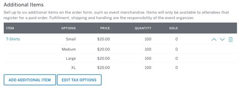 Order 3 Item Neno how to sell additional items like merchandise for your event eventbrite support