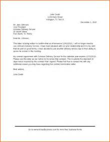 Termination Letter Sample Independent Contractor 10 Contract Termination Letter Template Contract Template