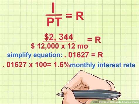 Figuring Out Financing by How To Calculate Interest Rate 10 Steps With Pictures