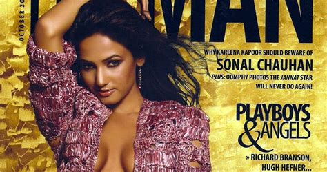 bollywood news and gossip bollywood movie reviews and sonal chauhan s hot man magazine scans bollywood gossips