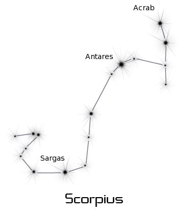 scorpius space constellations charts charts 5 scorpius