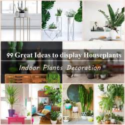 Ideas For Indoor Potted Plants Design 99 Great Ideas To Display Houseplants Indoor Plants Decoration Balcony Garden Web